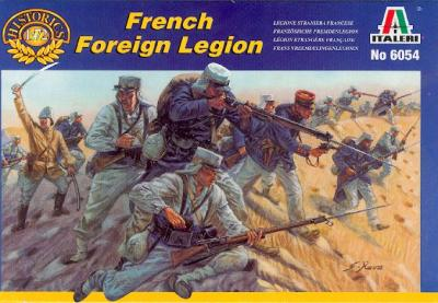 6054 - French Foreign Legion 1/72
