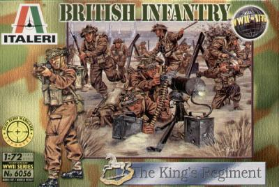 6056 - WW2 British Infantry 1/72