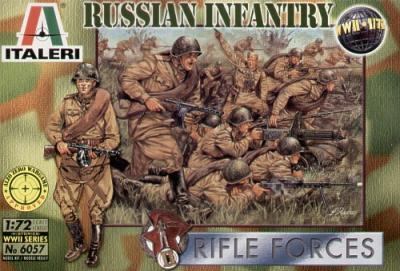6057 - WW2 Russian Infantry 1/72