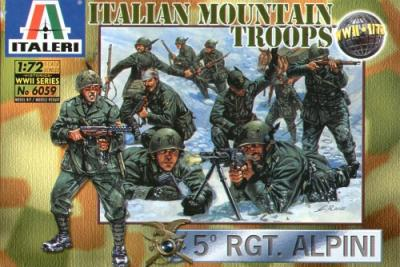 6059 - WW2 Italian Mountain Troops 1/72