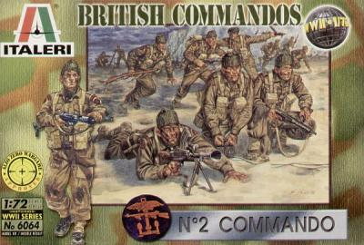 6064 - WW2 British Commandos 1/72