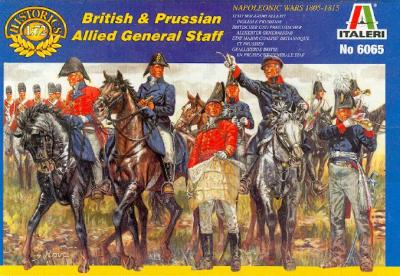 6065 - British and Prussian Allied General Staff 1/72