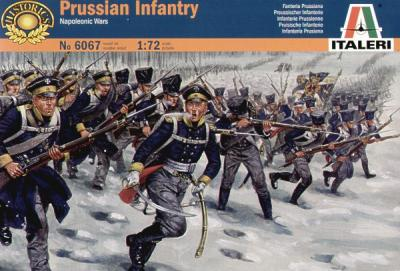6067 - Napoleonic Prussian Infantry 1813/15 1/72
