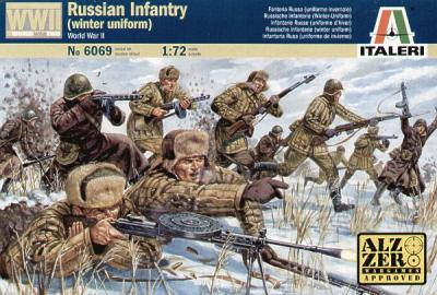 6069 - Russian Infantry (Winter Uniform) 1/72