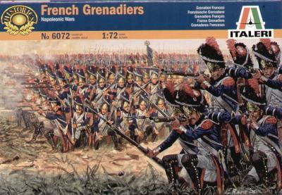 6072 - Napoleonic French Grenadiers 1/72