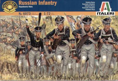 6073 - Napoleonic Russian Infantry 1/72