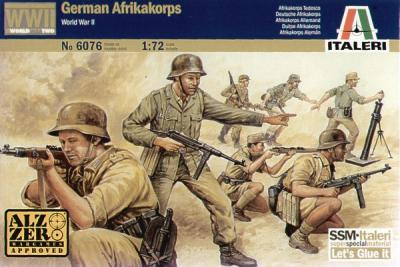6076 - German Afrikakorps 1/72