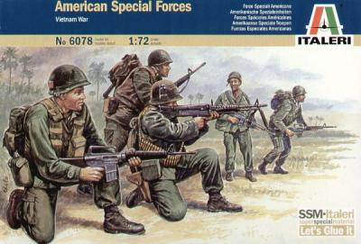 6078 - American Special Forces 1/72