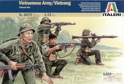 6079 - Vietnamese Army / Vietcong 1/72
