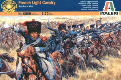 6080 - Napoleonic French Light Cavalry 1/72