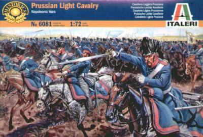 6081 - Napoleonic Prussian Light Cavalry 1/72