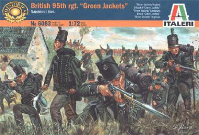 6083 - British 95th Regiment 1/72