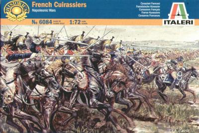 6084 - Napoleonic French Cuirassiers 1/72
