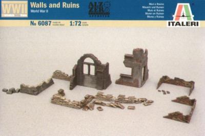 6087 - Walls and Ruins 1/72