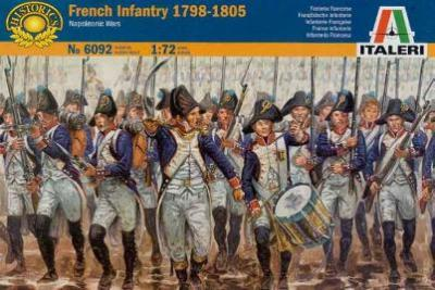 6092 - French Infantry 1798-1805 1/72