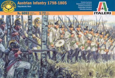 6093 - Austrian Infantry 1798-1805 1/72