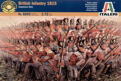 6095 - British Infantry 1815 1/72