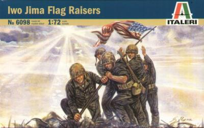 6098 - Iwo Jima Flag Raisers 1/72