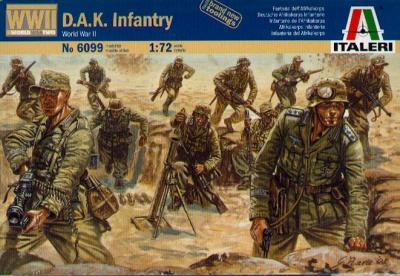 6099 - D.A.K. Infantry 1/72