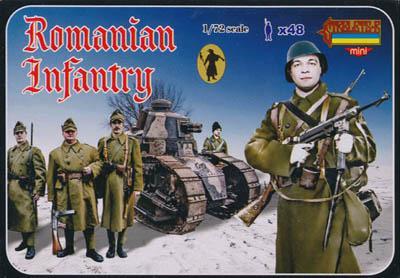 M061 - WW2 Romanian Infantry 1/72