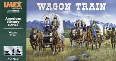 610 - Wagon Train 1/72