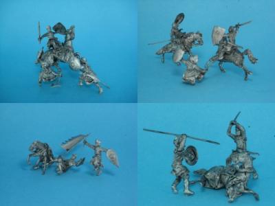 TM0016 - Knights Set 5 (inc. Set 1 to Set 4) 1/72