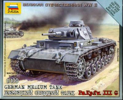 6119 - German Medium Tank Pz.Kpfw. III G 1/100
