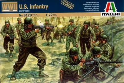 6120 - American Infantry 1/72