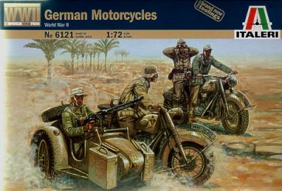 6121 - German Motorcycles 1/72