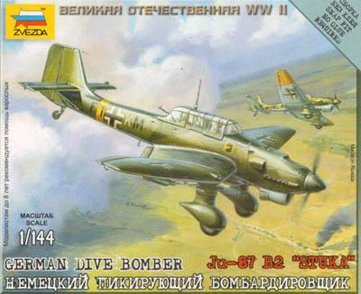 6123 - German Dive Bomber JU-87 'Stuka' 1/144