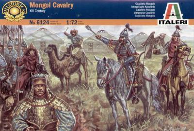6124 - Mongol Cavalry 1/72