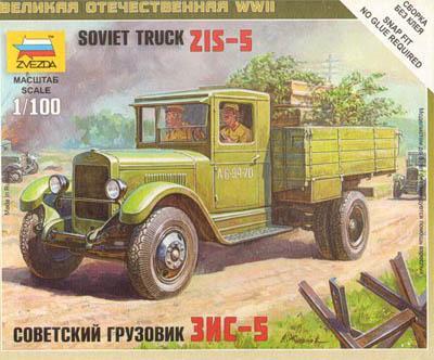6124 - Soviet Truck ZIS-5 1/100