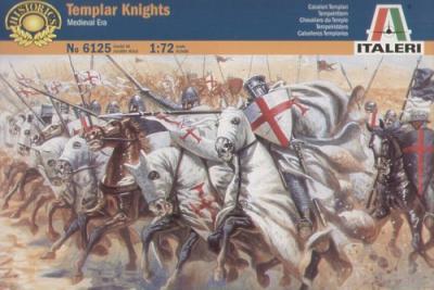 6125 - Templar Knights 1/72