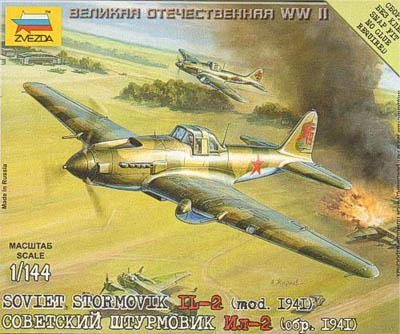 6125 - Soviet Stormovik IL-2 (1941 Model) 1/144