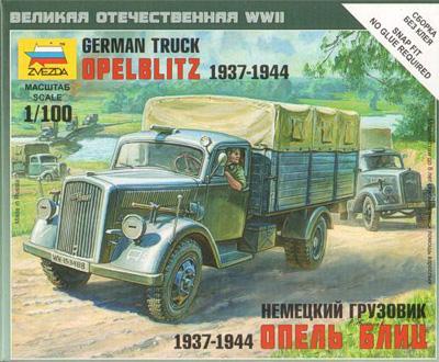 6126 - German Truck Opel Blitz 1937-44 1/100