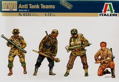 6131 - Anti Tank Teams 1/72