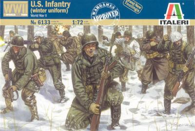 6133 - US Infantry (Winter Uniform) 1/72