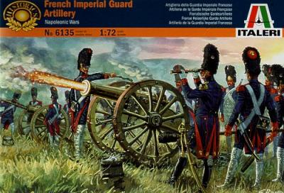 6135 - French Imperial Guard Artillery 1/72
