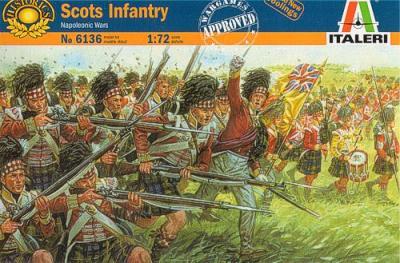 6136 - Napoleonic Scots Infantry 1/72
