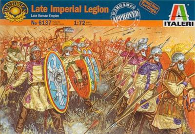 6137 - Late Imperial Legion 1/72