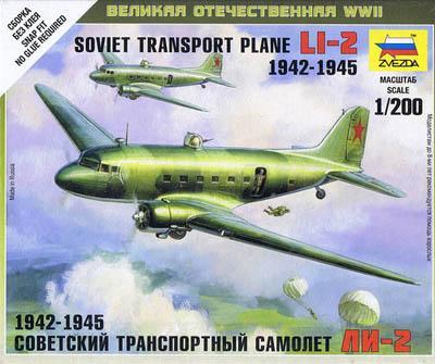 6140 - Soviet Transport Plane LI-Z 1/200