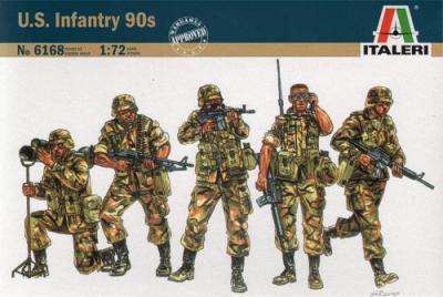 6168 - US Infantry 90s 1/72