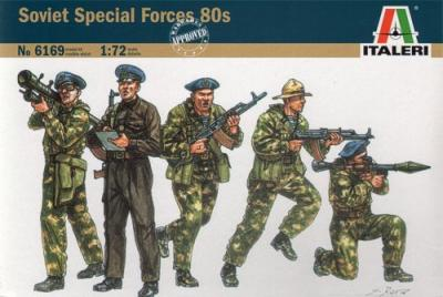 6169 - Soviet Special Forces 80s 1/72