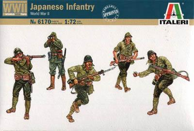 6170 - WW2 Japanese Infantry 1/72