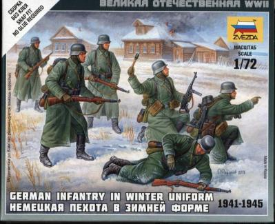 6198 - German Infantry in Winter Uniform 1/72