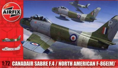 Airfix 03083 Canadair Sabre F.4/North American F-86E(M)