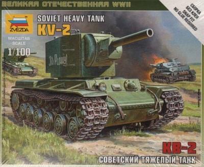 6202 - Soviet Tank KV2 1/100