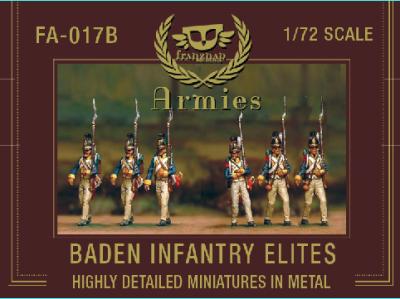 FA-017b - Baden Infantry Elites 1/72