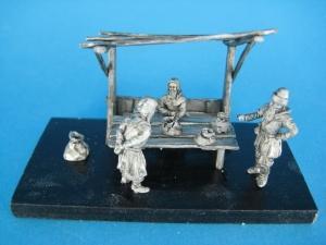 TM0006 - Medieval Stall 1/72