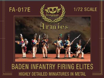 FA-017E Baden Infantry Firing Elites 1/72